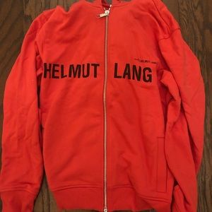 NWT Helmut Lang hoodie